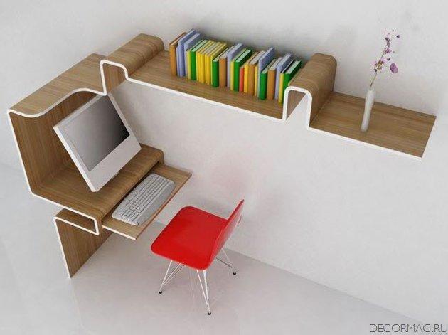 Компьютерные столы необычный дизайн